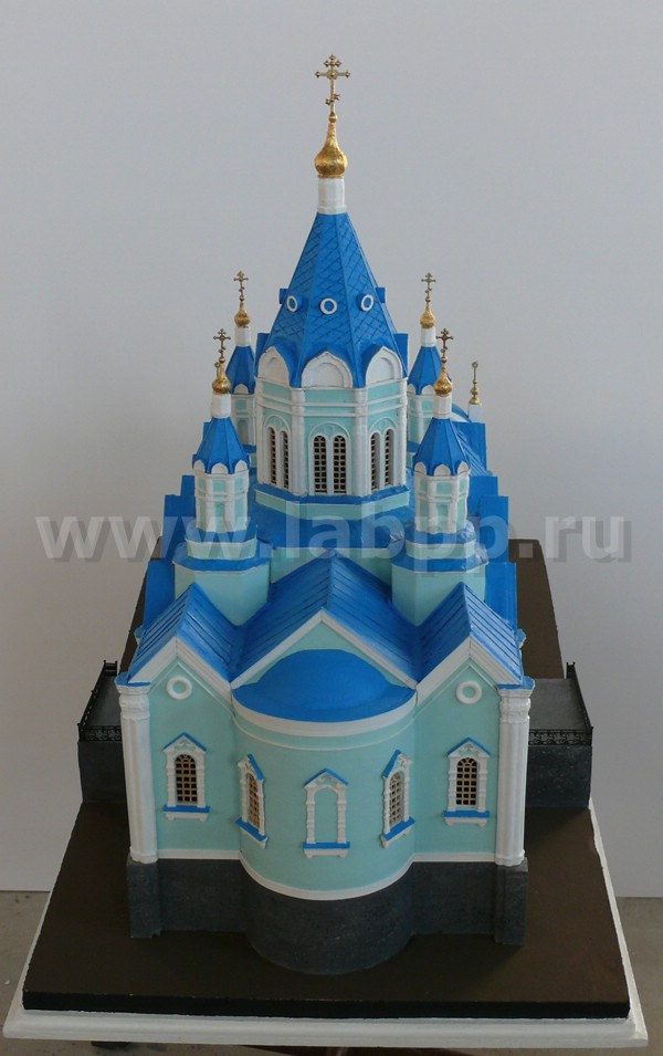 The scale model of the Russian church
