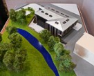 Architectural exibition scale model hitech building (photo 17)