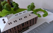 Architectural exibition scale model hitech building (photo 4)