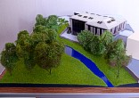 Architectural exibition scale model hitech building (photo 6)