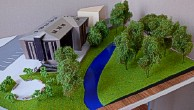 Architectural exibition scale model hitech building (photo 9)