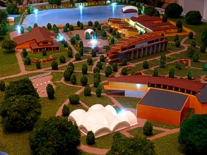 Club ArtiLend in the scale model