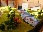 Maquette of the cottage village