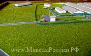 Gift maquette of the pig farm
