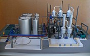 Scale model of complex waste processing factory Lesaffre Voronegskiye yeast (photo 10)