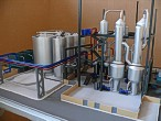 Scale model of complex waste processing factory Lesaffre Voronegskiye yeast (photo 13)