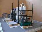 Scale model of complex waste processing factory Lesaffre Voronegskiye yeast (photo 14)
