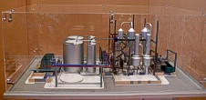 Scale model of complex waste processing factory Lesaffre Voronegskiye yeast (photo 17)