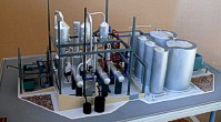 Scale model of complex waste processing factory Lesaffre Voronegskiye yeast (photo 18)