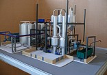 Scale model of complex waste processing factory Lesaffre Voronegskiye yeast (photo 9)